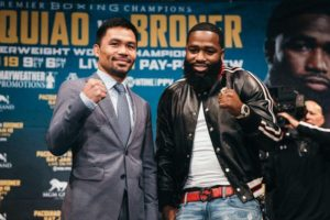 "Pacquiao on fight with Broner: ""I do not doubt that the fight will be complicated"". Photo: Amanda Westcott/SHOWTIME"
