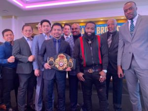 Pacquiao and Broner close promotional tour in Los Angeles. Foto: Marcelino Castillo