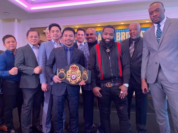Pacquiao and Broner close promotional tour in Los Angeles