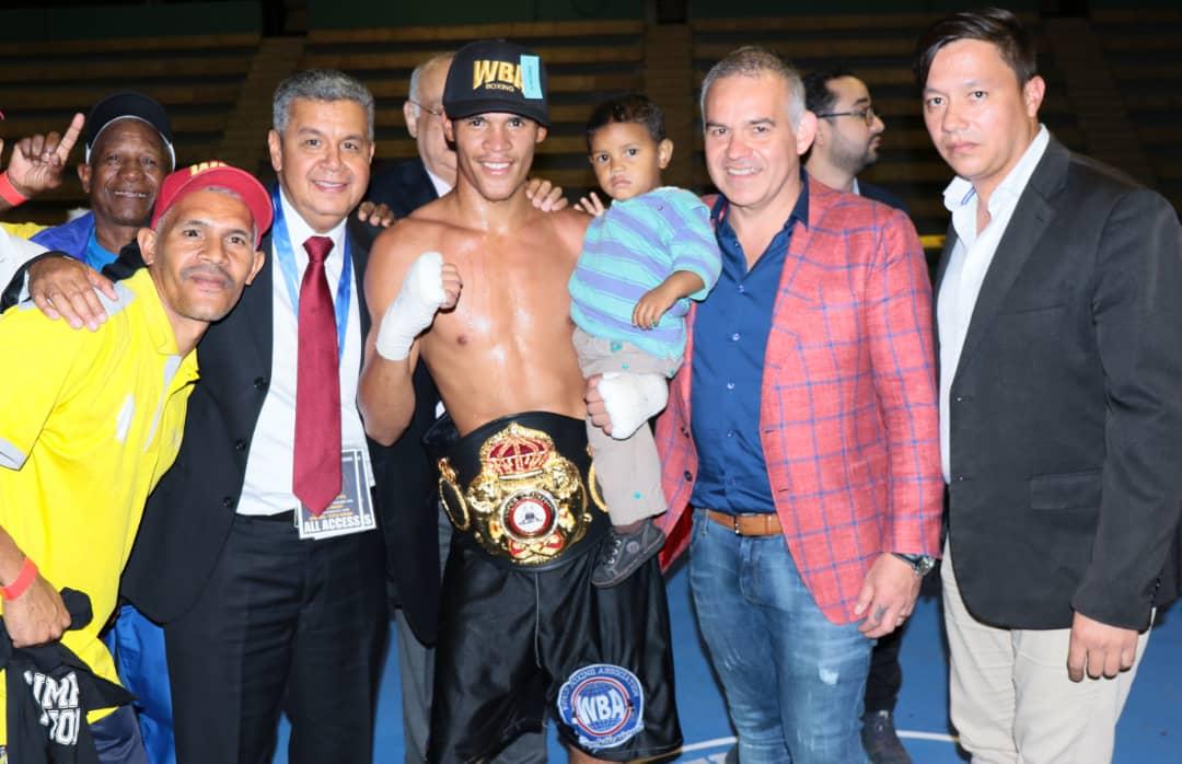 Gilberto Mendoza ends productive trip to Venezuela
