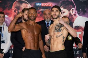 Brook and Zefara make weight for Sheffield fight