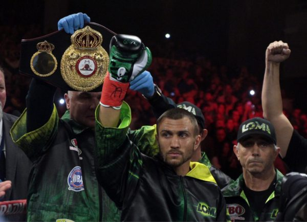 Lomachenko-Crolla will go to purse bid on February 4th