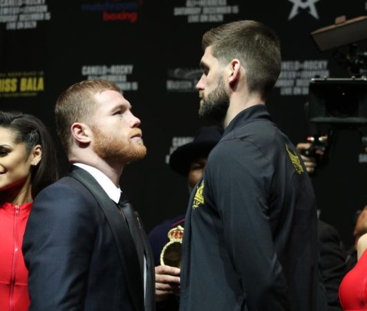 Canelo and Fielding ready to write their chapter in the history of MSG