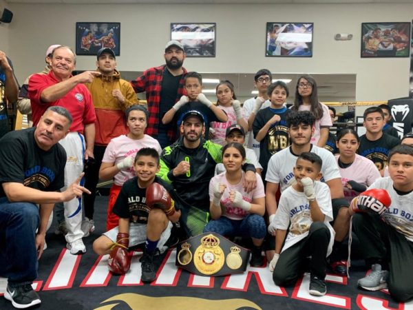 The WBA and Jorge Linares send a Christmas message to Las Vegas
