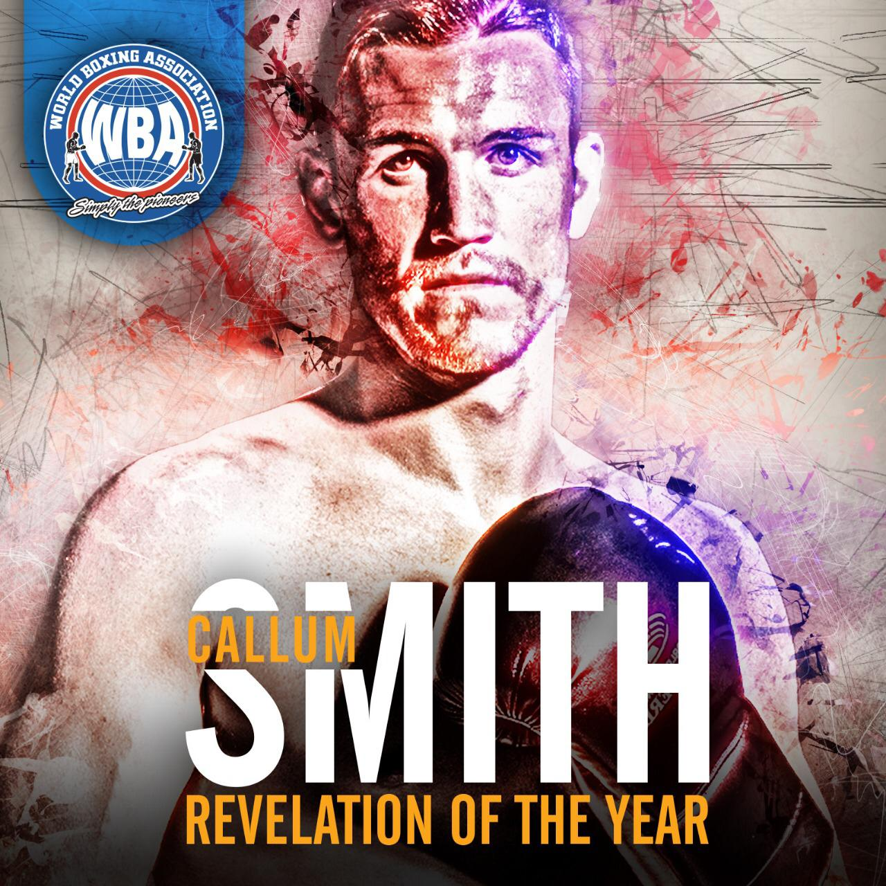 Callum Smith is the WBA Breakout Fighter of the Year