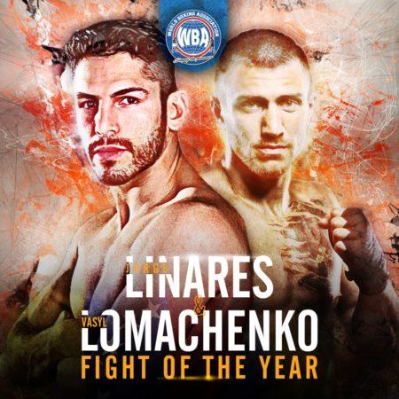 Lomachenko vs Linares wins WBA fight of the year