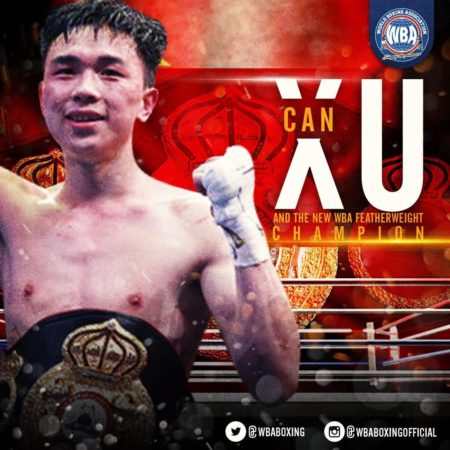 Can Xu – WBA Honorable Mention January 2019