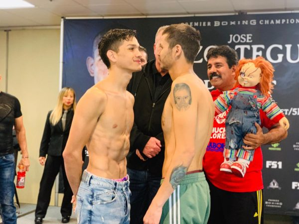Figueroa and Flores make weight in California