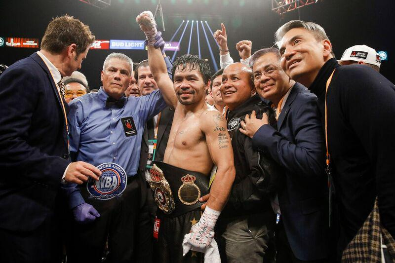 Pacquiao retains WBA title with UD win over Broner