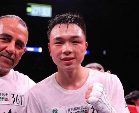Xu captures WBA featherweight belt with upset over Rojas