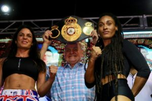 Gabriels and Dwyer make weight in Nicaragua