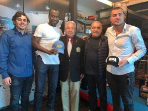 Equipo de Shumenov gana subasta en Panamá