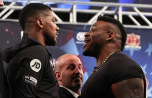 Joshua and Miller hold a heated press conference