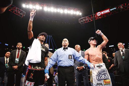 Castano retains WBA belt after draw with Lara