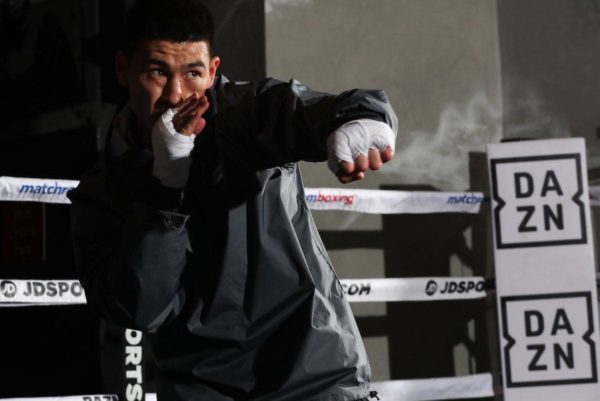 Bivol and Smith met for public training in Verona