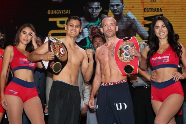 Roman and Doheny make weight in Inglewood
