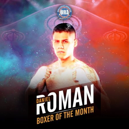 Daniel Roman is the WBA boxer of the month