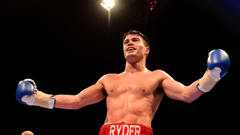 Ryder and Akkawy to fight for the WBA interim 168lb belt this Saturday