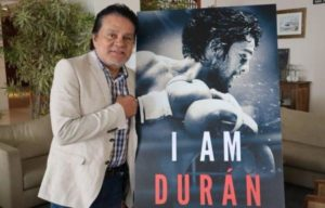 "Roberto Duran presented his documentary ""I AM DURAN"" in Panama"