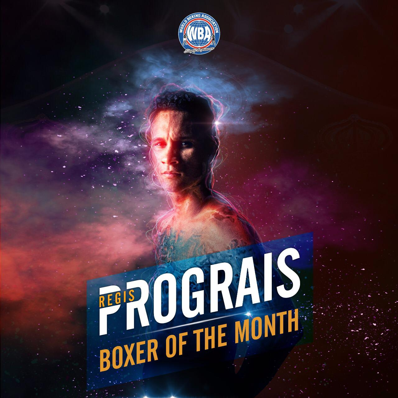 Regis Prograis is the WBA boxer of the month
