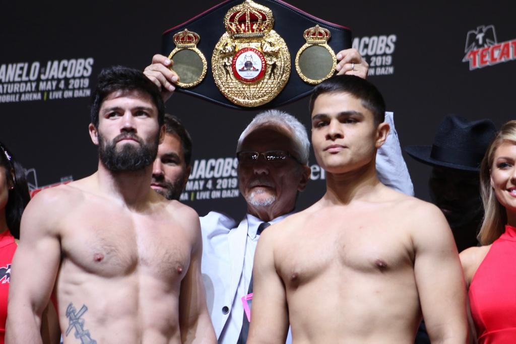 Ryder vs Akkawy weigh-in results