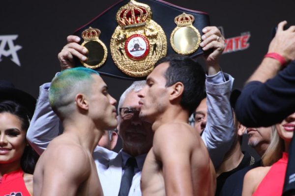 Diaz vs Fonseca weigh-in results