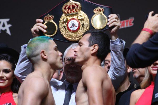 Diaz vs Fonseca weigh-in results