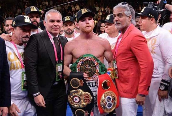 Congratulations to Canelo on winning ESPY Award