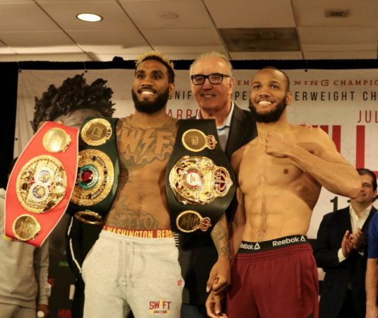 Weigh in Hurd 153 3/4 vs Williams 153 3/4