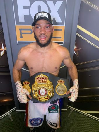 Williams will defend his WBA belt against Rosario