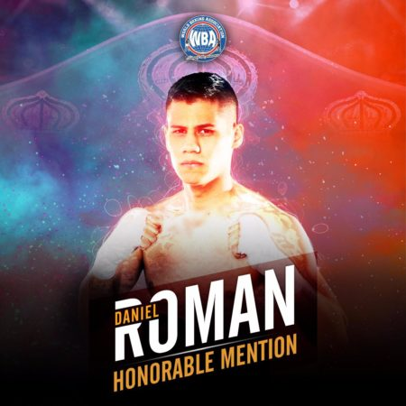 Daniel Roman - WBA Honorable Mention April 2019