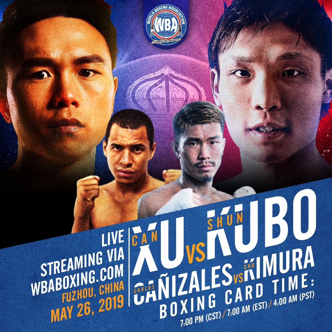 WBA will broadcast fights in China this Sunday
