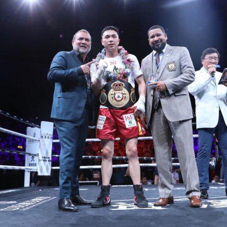 Xu stopped Kubo by TKO