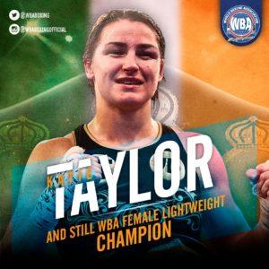Taylor derrotó a Persoon y es campeona indisputada