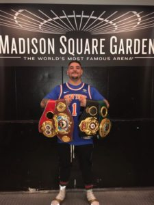 Andy Ruiz Jr. enters the history books of boxing