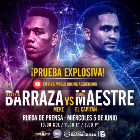 Promotion of Maestre vs Barraza arrives in Bogota