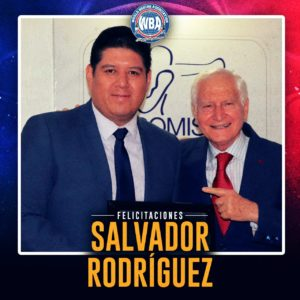 """Salvador Rodriguez awarded with the """"Sonny"""" Alarcon Award"""
