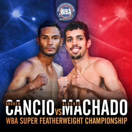 Cancio and Machado make weight for WBA Title rematch