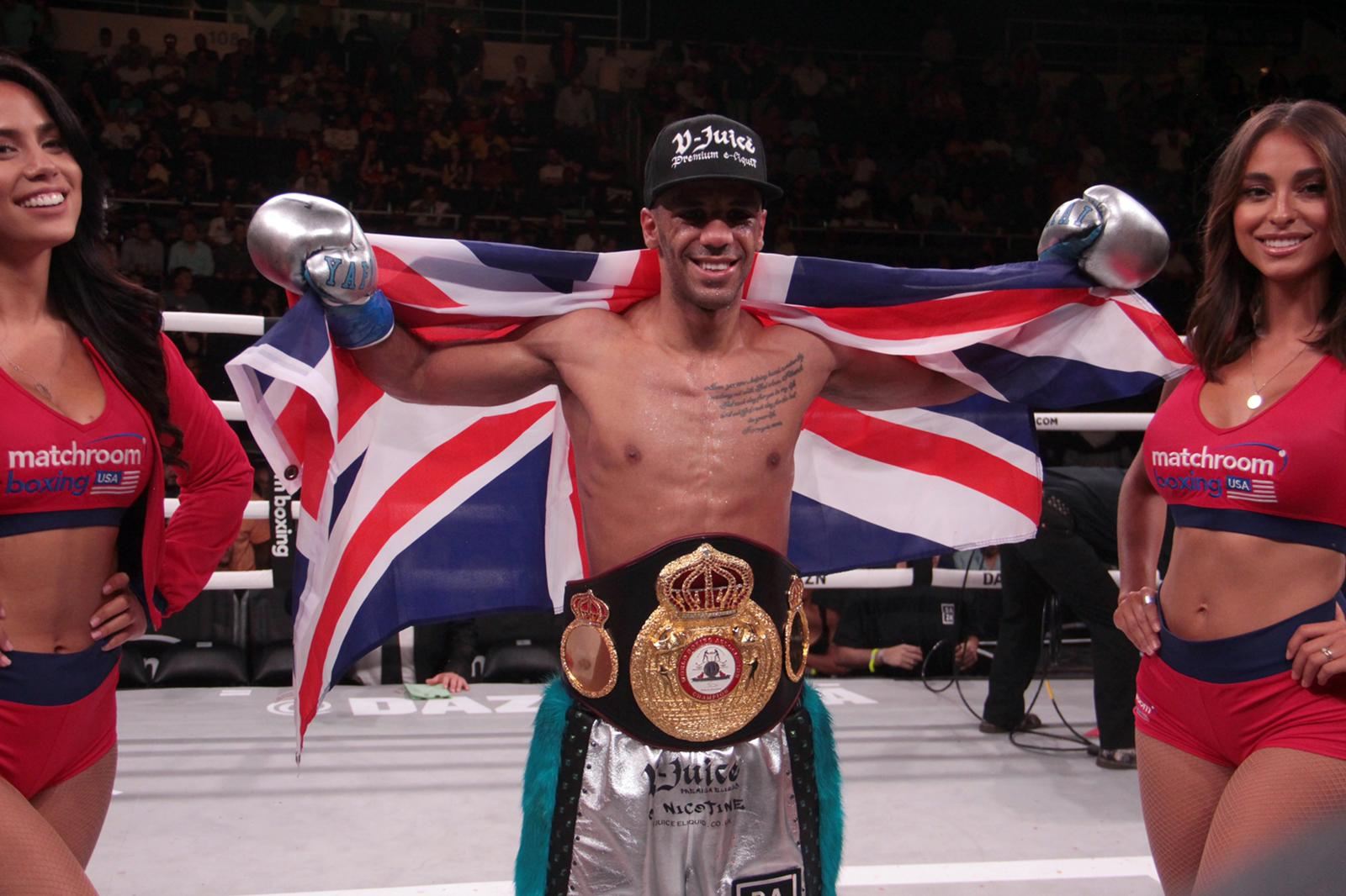 """Yafai arrived in Texas for his clash with """"Chocolatito"""" Gonzalez"""