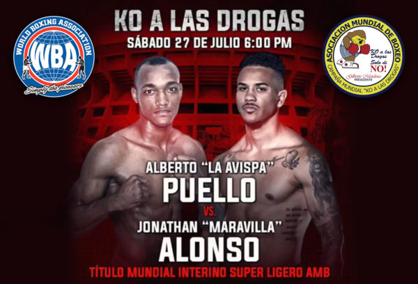 Jonathan Alonso and Alberto Puello are excited to fight for the WBA Interim Title on KO to Drugs card