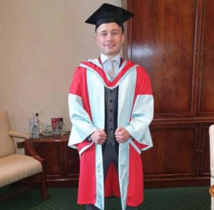 Frampton receives recognition at Belfast University