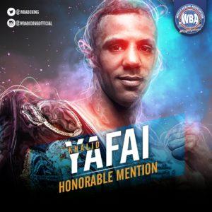 Khalid Yafai– Mención honorífica AMB – Junio 2019