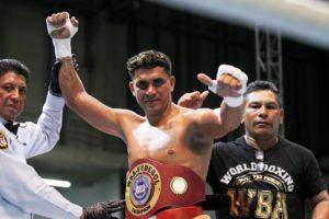 Colina knocks out Spain to become WBA Fedebol Champion