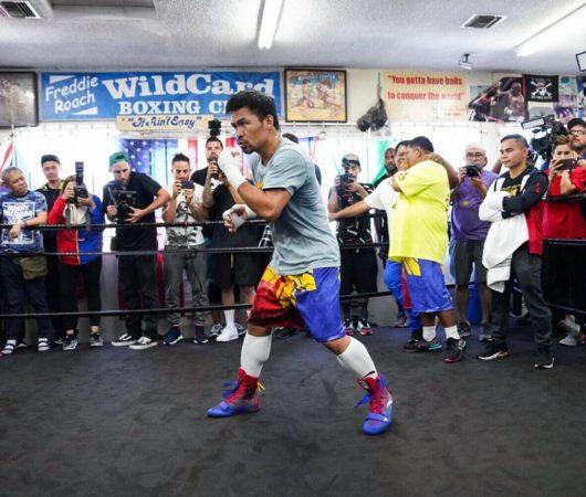 Fight week! Pacquiao vs. Thurman