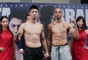 Brant and Murata make weight for rematch