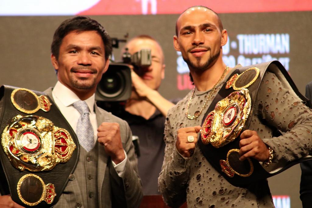 Pacquiao and Thurman are ready to write their chapter in Las Vegas history