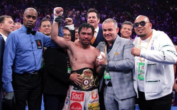 The legend of Pacquiao continues with a split decision over Thurman in Las Vegas
