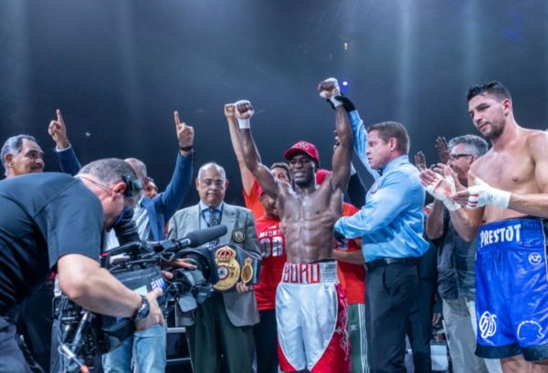Soro captures the WBA Gold Title with knockout