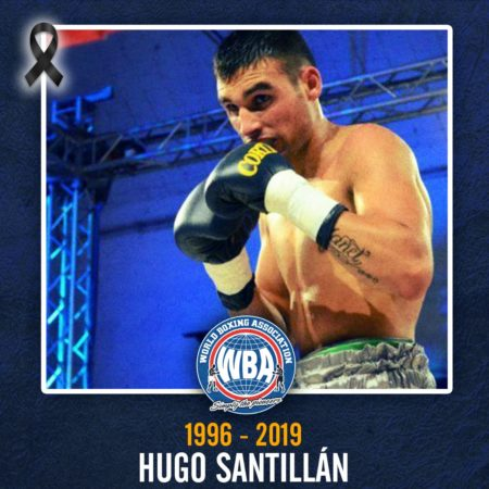 Boxing loses Hugo Santillan