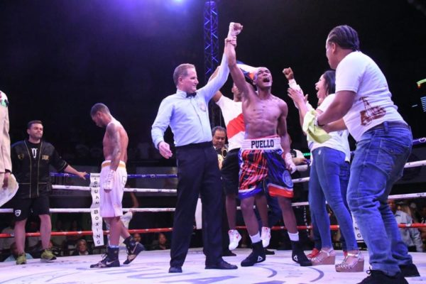 Puello will defend against Coria on December 17 in Santo Domingo